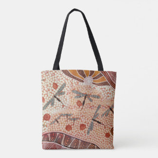 Dragonfly Dreaming Tote Bag