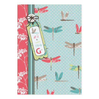 Dragonfly Dreams Girl Gift Tag Pack Of Chubby Business Cards