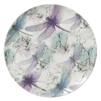 Dragonfly Dreams Melamine Plate