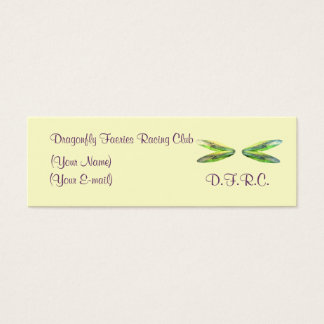 Dragonfly Faeries Racing Club Profile Card
