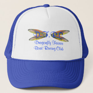 Dragonfly Fairies Boat Racing Club Trucker Hat
