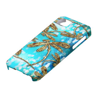 Dragonfly Flit Bubbles Barely There iPhone 5 Case