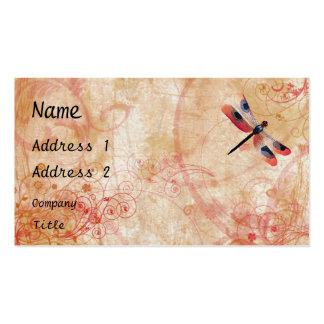 Dragonfly Flourish Business Card