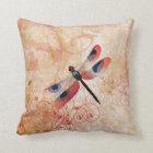 Dragonfly Flourish Pillow
