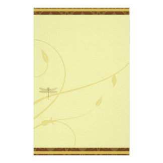 Dragonfly Flourish Stationary Stationery