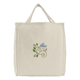 Dragonfly Garden Tote Bags