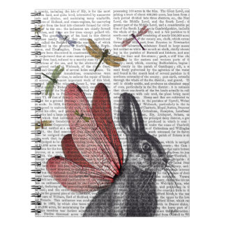 Dragonfly Hare Notebook