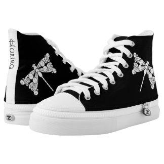 Dragonfly Haring Design shoe