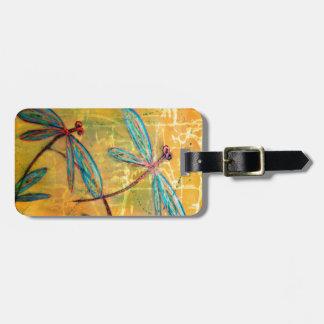 Dragonfly Haze Luggage Tag