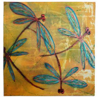 Dragonfly Haze Napkin