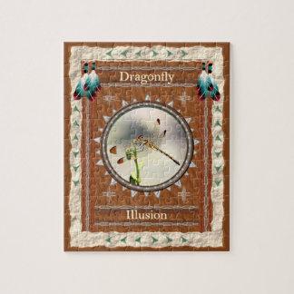 Dragonfly -Illusion- Jigsaw Puzzle w/ Gift Box