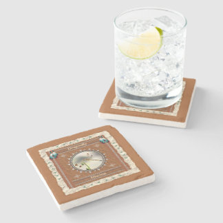 Dragonfly -Illusion- Marble Coaster