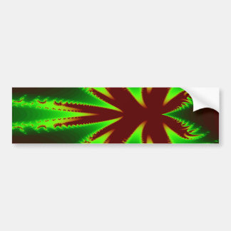 Dragonfly in flames Bumper Sticker
