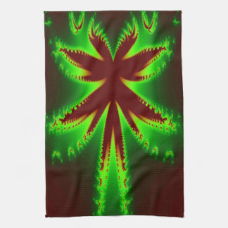 Dragonfly in Flames Kitchen Towel