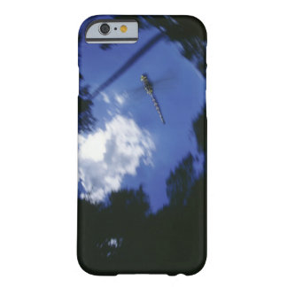 Dragonfly in flight, flapping wings barely there iPhone 6 case