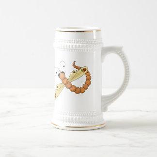 Dragonfly In Flight Beer Steins