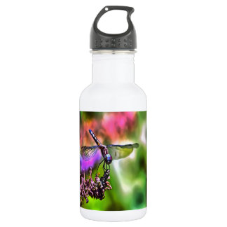 Dragonfly In Green and Blue 532 Ml Water Bottle