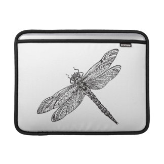 Dragonfly In Style MacBook Sleeve