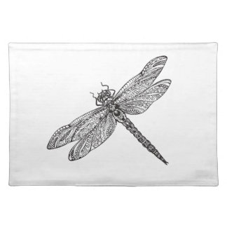 Dragonfly In Style Placemat