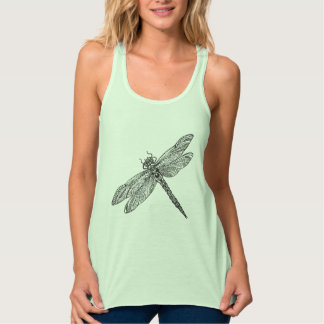 Dragonfly In Style Tank Top
