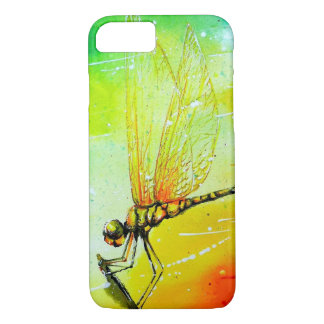 Dragonfly in the Wind iPhone 7 Case