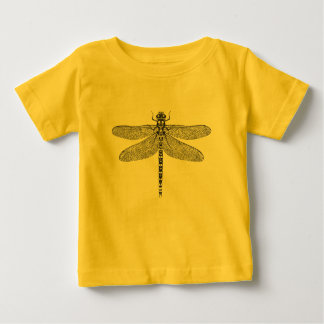 Dragonfly ink illustration baby T-Shirt