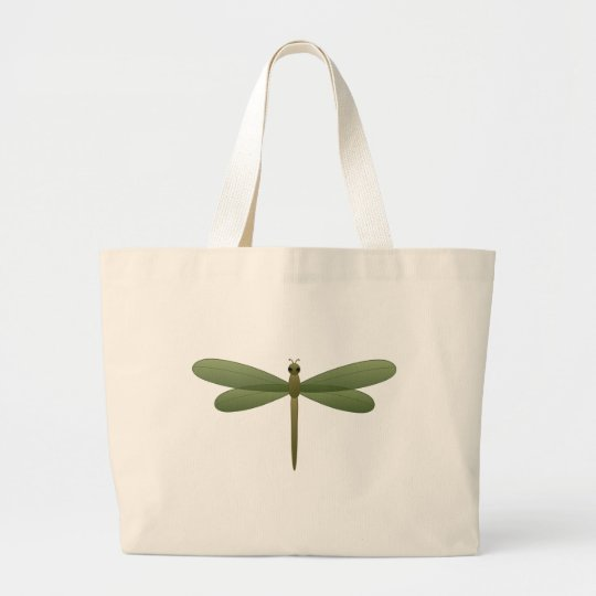 DRAGONFLY LARGE TOTE BAG