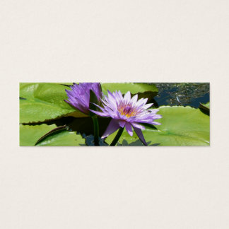 Dragonfly Lotus Mini Business Card