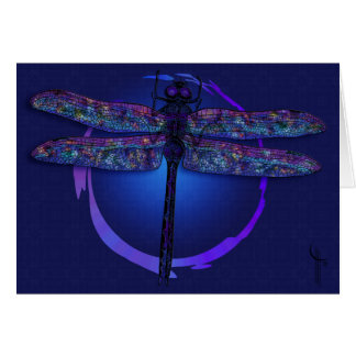 Dragonfly Magic Greeting Card