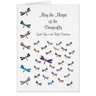 Dragonfly Magic Note Card