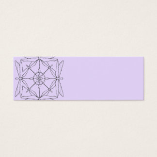 Dragonfly Mandala Business Card
