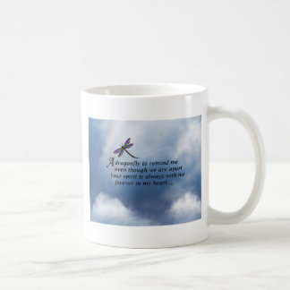 Dragonfly  Memorial Poem Coffee Mug