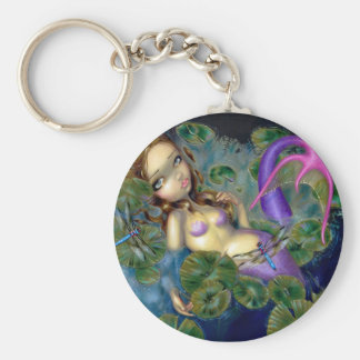 """Dragonfly Mermaid"" Keychain"