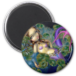 Dragonfly Mermaid Magnet
