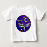dragonfly moon baby T-Shirt