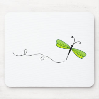 dragonfly mouse pad