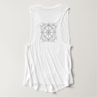 Dragonfly Muscle-Tee Flowy Muscle Tank Top