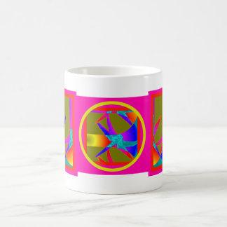 Dragonfly Mystic Rainbows by Sharles Basic White Mug