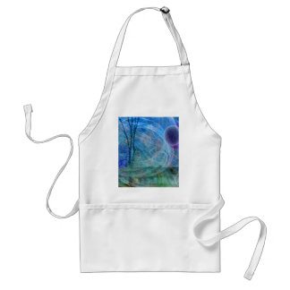 Dragonfly nature in motion adult apron