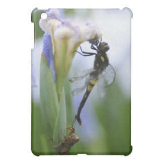 Dragonfly on iris cover for the iPad mini