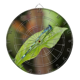 dragonfly on leaf dart boards