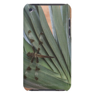 Dragonfly on plant barely there iPod cover
