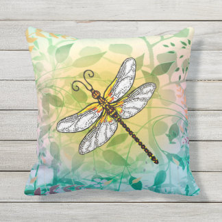 Dragonfly Outdoor Cushion