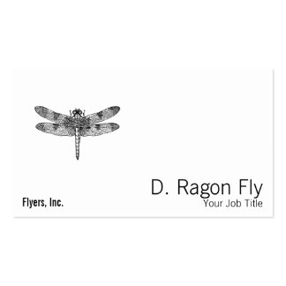 Dragonfly Pack Of Standard Business Cards