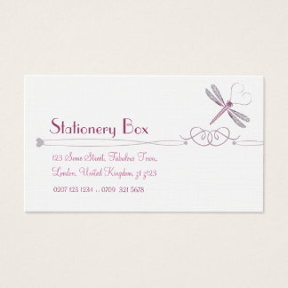 Dragonfly Personal Calling Cards