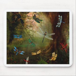 Dragonfly Playground Mouse Mat