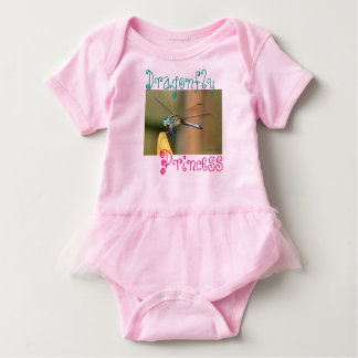Dragonfly Princess Baby Bodysuit