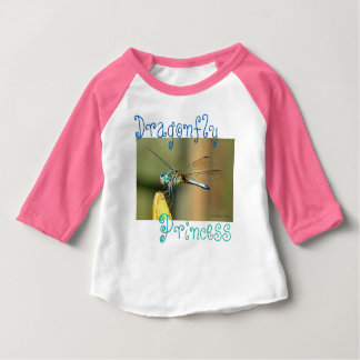 Dragonfly Princess Baby T-Shirt