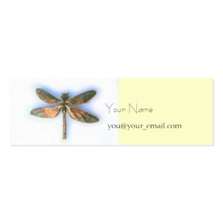 dragonfly profile card pack of skinny business cards