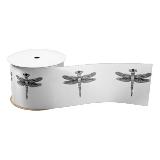 Dragonfly Satin Ribbon